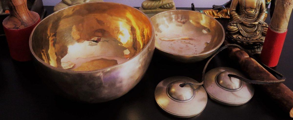 Bol et cymbales du Tibet